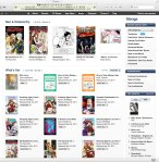 "Workaholic English edition - on iPad - 2nd day - Featured as ""New & Noteworthy"" and Top4 bestseller Manga on iBookstore US"