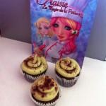 """""""Fraisie"""" avec les cupcakes de Françoise"""