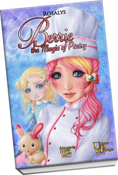 Berrie, the Magic of Pastry - book