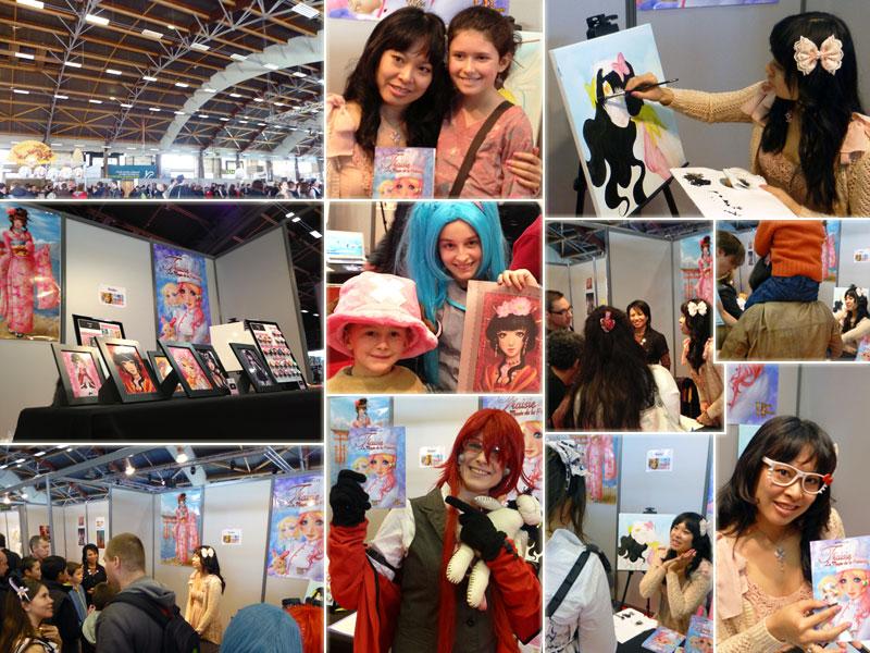 Dédicaces Rosalys au salon Art to play : 24-25 Nov 2012
