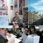 """Dédicaces Fleur D. au festival """"Japan expo Belgium"""" (Bruxelles, BELGIQUE) : 01-03 Nov 2013"""