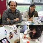 Dédicaces Guillaume Lebigot & Saeko Doyle à Complètement Manga (Wimereux, FRANCE) : 25 Avr 2014