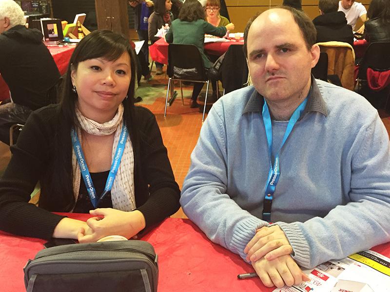 Dédicaces Guillaume Lebigot & Saeko Doyle à Crayonantes (Nantes, FRANCE) : 13-14 Dec 2014