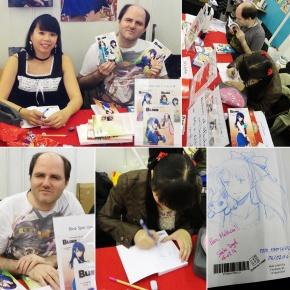 Dédicaces Guillaume Lebigot & Saeko Doyle à Japan expo (Paris/Villepinte, FRANCE) :  4-6 Jui 2014