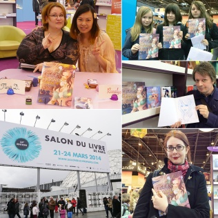 Dédicaces au Salon du Livre de Paris (Paris, FRANCE) : 21 Mar 2014