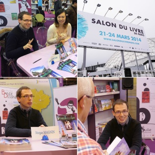 Dédicaces au Salon du Livre de Paris (Paris, FRANCE) : 23 Mar 2014