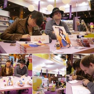 Dédicaces au Salon du Livre de Paris (Paris, FRANCE) : 22 Mar 2014