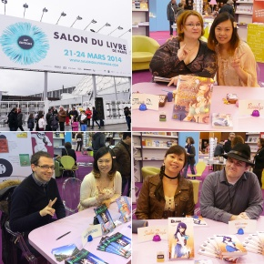 Dédicaces des auteurs UP éditions au Salon du Livre de Paris (Paris, FRANCE) : 21-23 Mar 2014