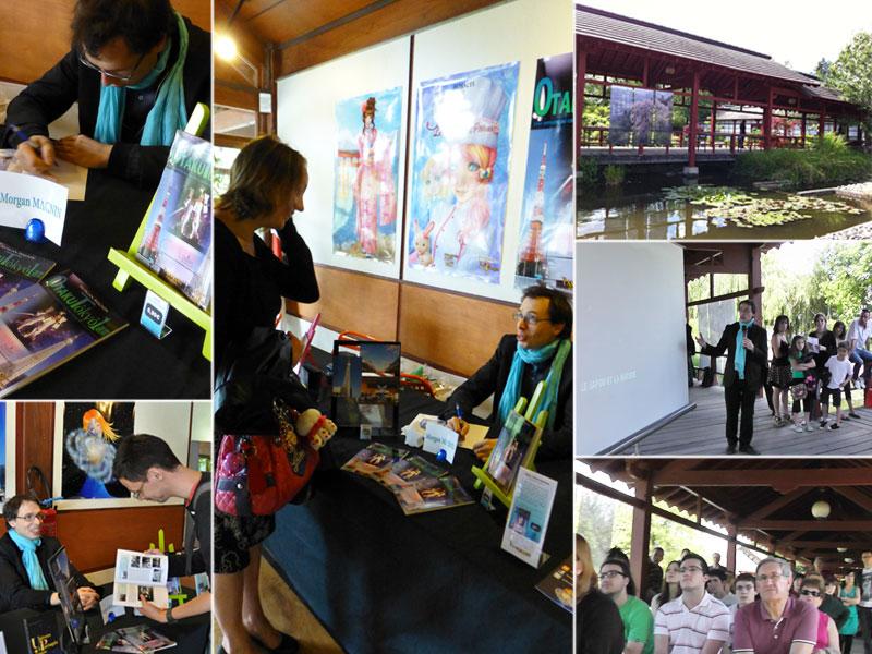 """Dédicaces au salon """"Passion Japon"""" : 23-24 Jun 2012"""