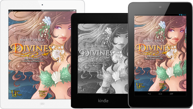 Divines, Beauties from classical mythology - eBook