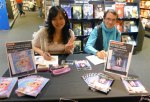Signings Morgan Magnin and Rosalys at FNAC: Sep 18, 2012
