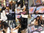 Signings of Berrie at FNAC bookstores: Sep 18, 2012