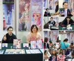 "Booth UP éditions & Signings Morgan Magnin et Rosalys at ""Paris Manga"" (Paris, FRANCE):  Oct 05-06, 2013"